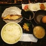 魚や 六蔵 - ランチの潮風定食❤メダイの西京焼♪
