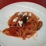 ピエトロバルコーネ - モッツァレラチーズとナスのトマトソース