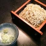 新次亭 - 手打ち蕎麦 150円増しで味噌汁をミニ蕎麦 又はミニほうとうに変えられます