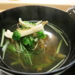 京料理かねき - 鴨丸の沢煮椀