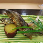 京料理かねき - 天然鮎の塩焼き
