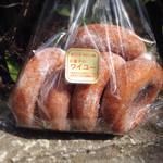 お菓子のワイユー 加賀屋店 - ソフトドーナツ5個¥300