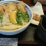 30995429 - かしわの天ぷらうどん大盛(890円プラス150円)