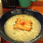 30996602 - 軍鶏水炊きらーめん/700円(税込)