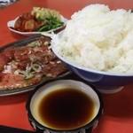 京城苑 - ライスの大盛りは無料がうれしい!(2014.09)