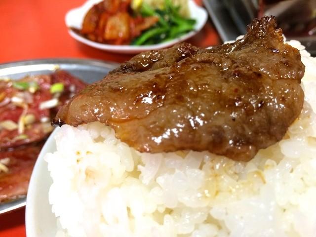 京城苑 - 肉のせて〜(2014.09)