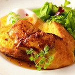 Yocco's French Toast Cafe - フォアグラとトリュフソースで贅沢な一品!ワインと一緒にどうぞ☆