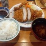 とんかつ藤よし - ロースカツ定食(ランチ)