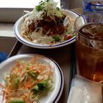 猿Cafe - ドリンク付きライスボウルも500円