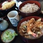 そば処 小玉家 - 天丼セット 980円。