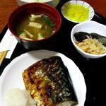 純子 - 焼魚(さば)定食650円