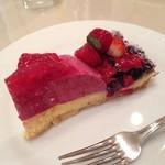 デリス・デュ・パレ - 赤い果実のタルト