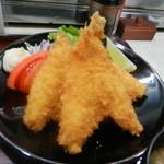 よしば - 魚フライ定食(アップ)