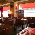 イタリアンカフェ・ベーム - カジュアルな店内