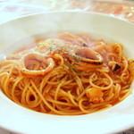 イタリアンカフェ・ベーム - 海の幸のトマトソース