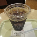 カフェ・ベローチェ - アイス珈琲(L) 240円
