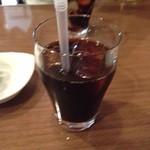 ちゃぶ台 - ドリンク写真:ランチ アイスコーヒー