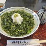 多め勢 - 料理写真:花巻おろしそば900円、花巻そばはもみ海苔を散らしたそばの雅称ですね、それをおろし蕎麦にしてあります。
