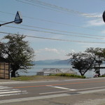 猪苗代湖畔のレストラン 中国料理 西湖 - 目の前に広がる猪苗代湖