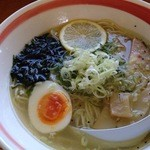 マグマ食堂 - 塩ラーメン831円