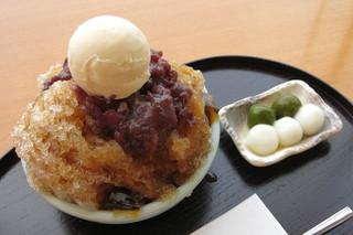 茶寮都路里 京都伊勢丹店 - 鞍馬(アップ、2014年8月)