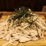 蕎麦 冷麦 嵯峨谷 - そば1枚