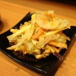 蕎麦 冷麦 嵯峨谷 - かき揚げ