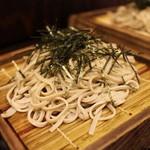 蕎麦 冷麦 嵯峨谷 - そば2枚