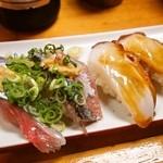 すし幸 - 秋刀魚&タコ