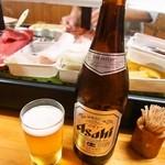 すし幸 - ビールは瓶のみ
