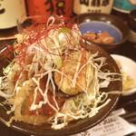 和の食 じゅあん - 秋刀魚天の甘辛丼