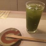 魚菜 ことわ - 青汁酎ハイ 身体に良さそ〜(。 >艸<)