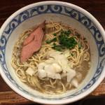 らー麺屋 バリバリジョニー - 「特濃煮干しそば」850円