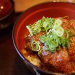 庵珠 - 黒毛和牛ステーキ丼
