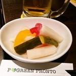 プロント - 彩り野菜のピクルス