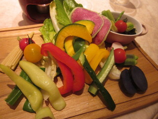 RIGOLETTO KITCHEN - 彩り良い多種の野菜たち