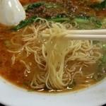 昭龍軒 - 細めの麺で美味しかった♪