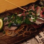 居酒屋革命 酔っ手羽 - 秋刀魚の刺身