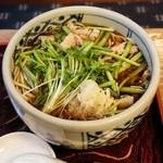 泰明庵 - せり肉蕎麦