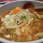 菊翠 - サンラータン麺