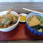 まいど - 料理写真:天丼セット