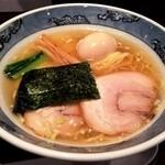 藤堂 - 丸(塩+半味漬玉子)