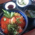 シーフードレストラン オールドリバー - ルイベ天然海苔丼
