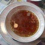 西洋料理杉山亭 - コンソメスープ