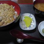 中野屋食堂 - 料理写真:H26.9.26 会津地鶏親子丼850円