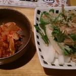 串串 - おまかせコース・キムチ・大根サラダ