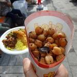 ディヤダハラ - ひよこ豆のココナッツスパイス炒め