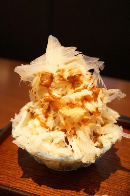 生粋 - かき氷(キャラメルミルク)