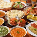ウパハル - 宴会コースにて、食べ放題飲み放題できます。120分。