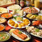 ウパハル - 飲み放題、食べ放題コースは事前ご予約でご利用いただけます。